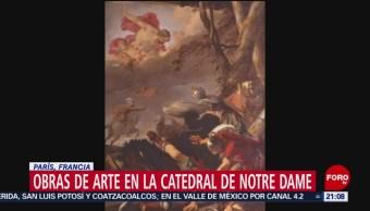 Foto: Obras De Arte Catedral Notre Dame 15 de Abril 2019