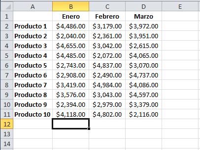 Debajo de una columna de datos, en una celda nueva, utiliza 'Ctrl' + 'Shift' + '=' y observa cómo se suman todos los valDebajo de una columna de datos, en una celda nueva, utiliza 'Ctrl' + 'Shift' + '=' y observa cómo se suman todos los valores (Excel Total)ores (Excel Total)