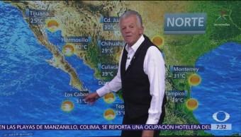 FOTO: Despierta con tiempo: Frente frío provocará lluvias en la Península de Yucatán, 19 ABRIL 2019