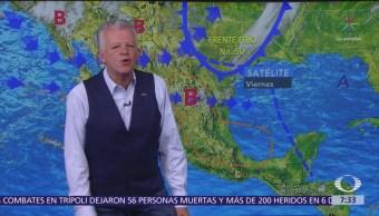 Despierta con Tiempo: Prevén caída de nieve en Sonora, Chihuahua y Durango