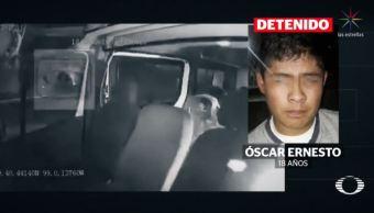 Difunden declaración del hombre que lanzó granada a transporte público en Tecámac