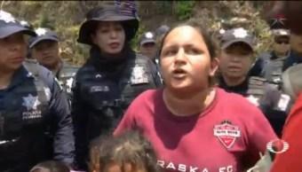 Foto: Detienen Migrantes Ceentroamericanos Chiapas 22 de Abril 2019