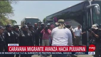 Foto: Detienen Migrantes Centroamericanos Chiapas 22 Abril 2019