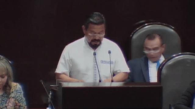 FOTO Diputados analizan desafuero del morenista Cipriano Charrez (Cámara de Diputados YouTube 24 abril 2019 cdmx)