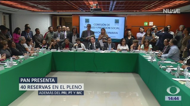 Foto: Diputados aprueban dictamen de reforma laboral