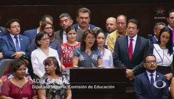 Foto: Diputados Aprueban Reforma Educativa 25 de Abril 2019