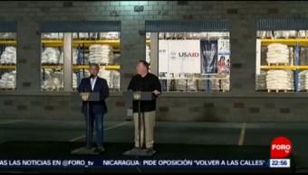 FOTO: Duque y Pompeo visitan puente Simón Bolívar, 14 de abril 2019