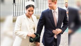 Foto: Los duques de Sussex asisten al servicio del Día de Commonwealth en la Abadía de Westminster, 3 abril 2019