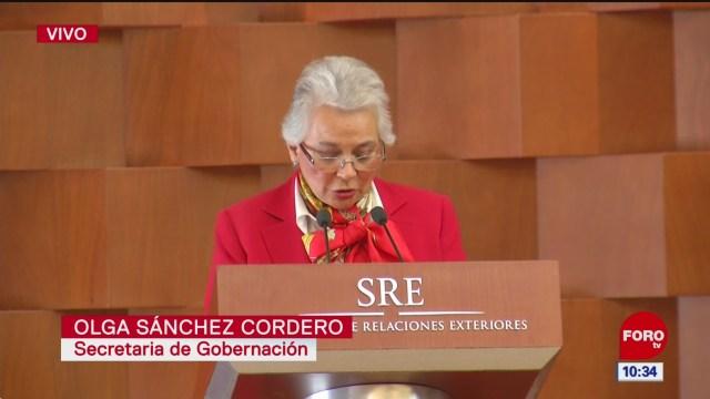 Ebrard y Bachelet firman acuerdo sobre Ayotzinapa
