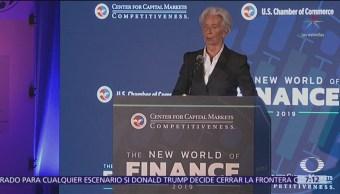 Economía global enfrenta momento delicado, advierte directora del FMI