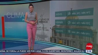 Foto: El clima A las Tres con Daniela Álvarez del 24 de abril de 2019