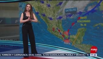 Foto: El clima, con Mayte Carranco del 1 de abril de 2019