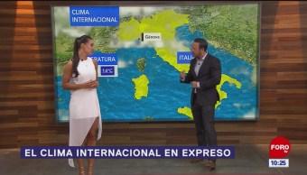 El clima internacional en Expreso del 23 de abril del 2019