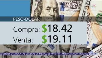 El dólar se vende en $19.11