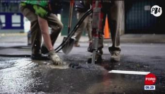 El problema de fugas de agua en la CDMX