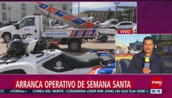FOTO: Elementos de seguridad en Chihuahua se suman a operativo de Semana Santa, 13 de abril 2019