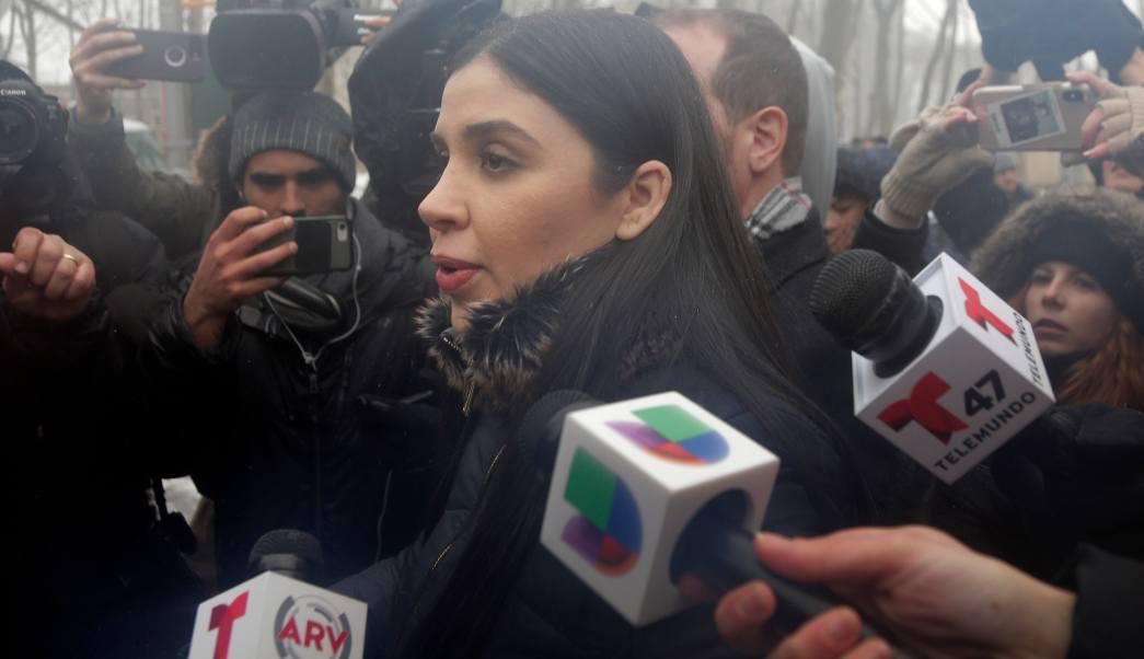 FOTO Emma Coronel creará marca de ropa basada en 'El Chapo' (AP 21 febrero 2019 nueva york)