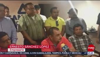 FOTO: Empresarios de Minatitlán exigen seguridad, 20 ABRIL 2019