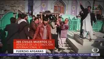 En Afganistán han muerto más civiles que terroristas durante 2019
