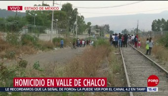 Foto: Balacera Valle De Chalco Muertos Hoy 5 de Abril 2019