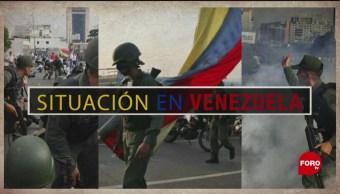 Foto: Enfrentamientos y disturbios en Venezuela