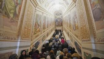 foto Fotos y video: Así es la 'Escalera Santa' que subió Jesús para ser enjuiciado 11 abril 2019