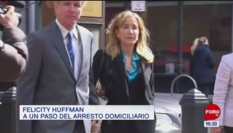 #EspectáculosenExpreso: Felicity Huffman, a un paso del arresto domiciliario