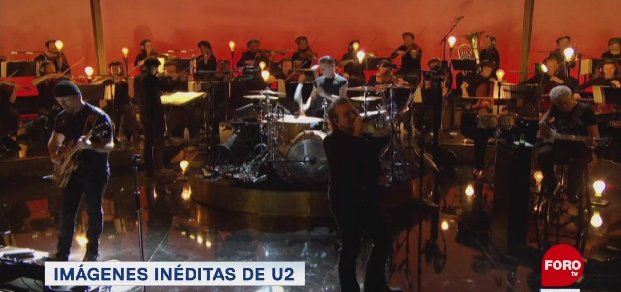 #EspectáculosenExpreso: Imágenes inéditas de U2