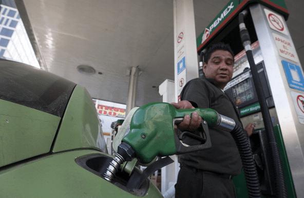 Foto: Estación de gasolina en México, Ciudad de México