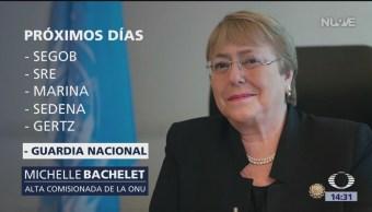 Foto: Este jueves llega a México Michelle Bachelet