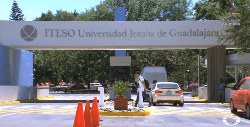 FOTO Estudiantes denuncian acoso sexual al interior del ITESO (Noticieros Televisa 2019 guadalajara)