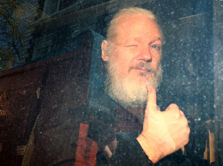 Foto EU acusa de conspiración a Julian Assange, fundador WikiLeaks 11 abril 2019