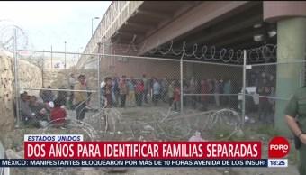 FOTO: EU podría tardar hasta 2 años en identificar familias separadas en frontera, 6 de abril 2019