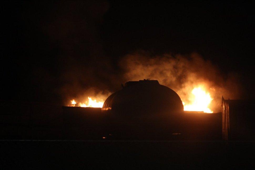 Foto Explotan pipas con combustible en Chachapa 9 abril 2019