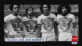 Fallece Juan José 'La Cobra' Muñante, exjugador de Pumas
