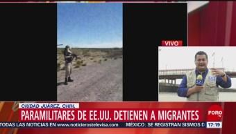 Foto: FBI aprehende a presuntos paramilitares que detenían a migrantes indocumentados