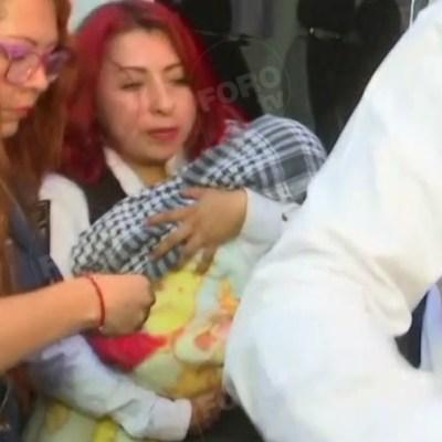 Localizan a Nancy Tirzo, la bebé robada afuera del Hospital General