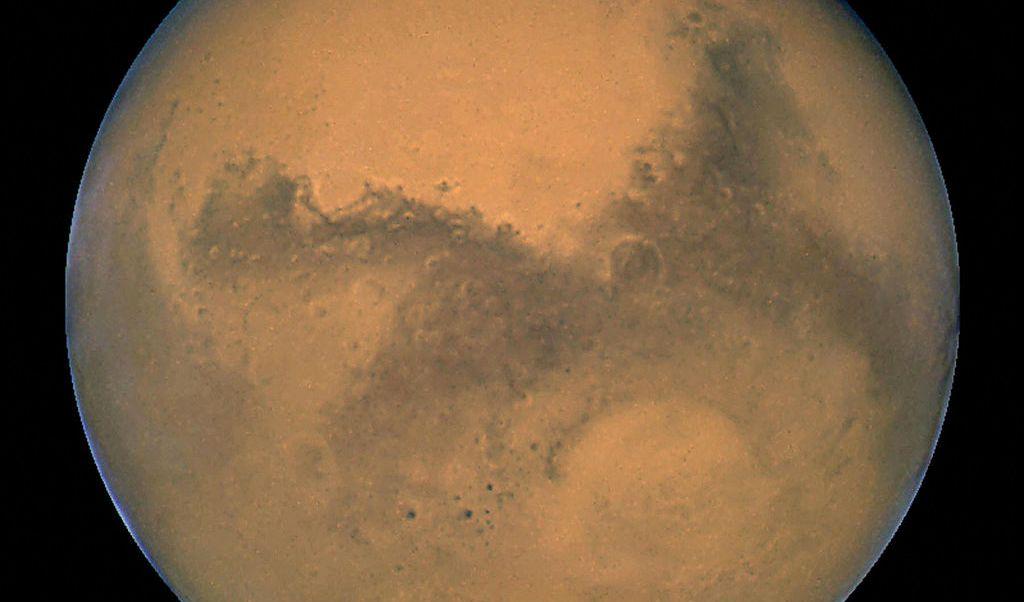 Foto: El telescopio espacial Hubble de la NASA captura una imagen del planeta Marte. El 27 de agosto de 2003