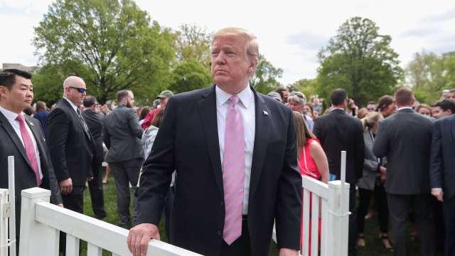 Foto: El presidente de Estados Unidos, Donald Trump, asiste a un evento de Pascua de la Casa Blanca. El 22 de abril de 2019
