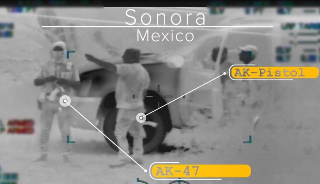 Foto: La Patrulla Fronteriza de Arizona detectó a un grupo de hombres armados en la frontera