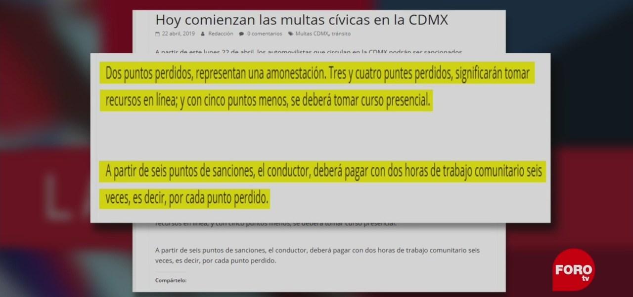 Foto: Fotocívicas Confusión Paparrucha Del Día Infracciones 23 de Abril 2019