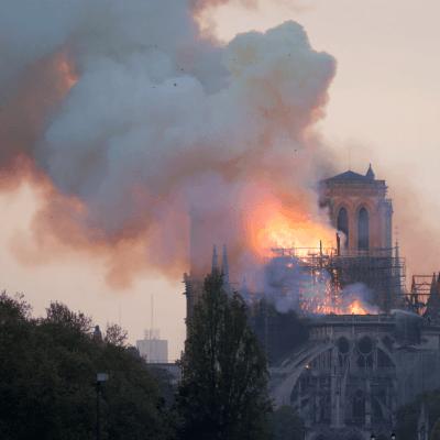 Fiscalía francesa abre investigación sobre incendio de Notre Dame