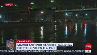 FOTO: Fuerte lluvia se reporta en el sur del Valle de México, 21 ABRIL 2019