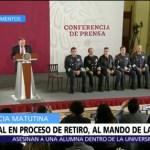 General en proceso de retiro, Luis Rodríguez Bucio, comandará Guardia Nacional