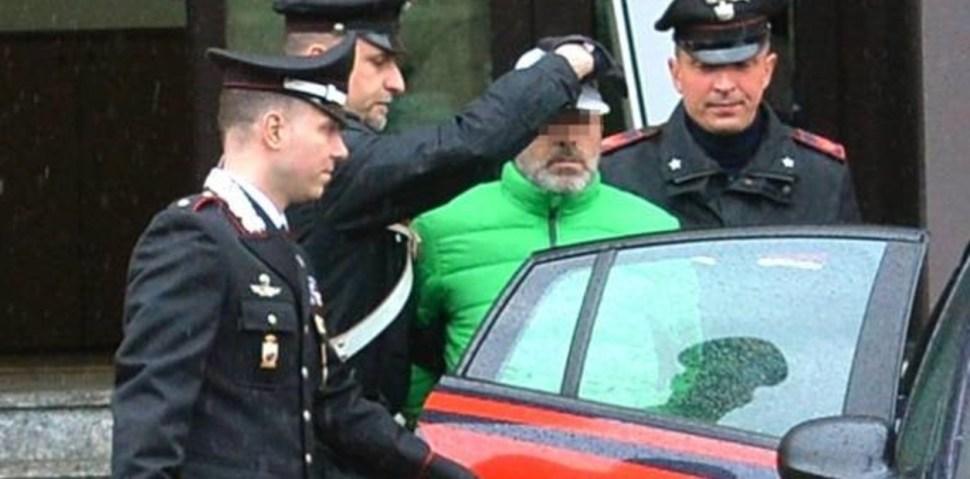 Genovese fue detenido de inmediato y no se resistió al arresto (Varese News) II