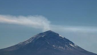 Actividad del Popocatépetl es provocada por alta temperatura del cráter: Cenapred