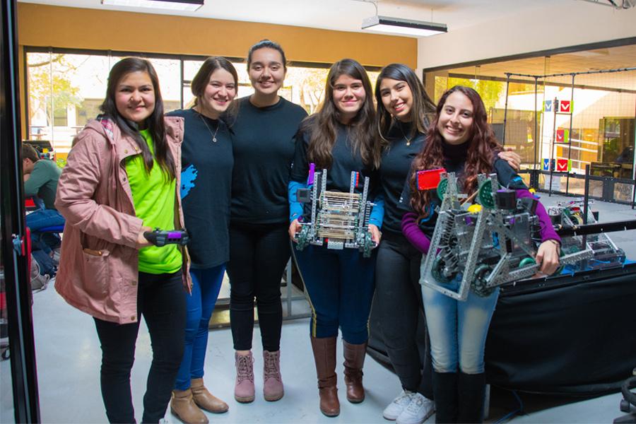 foto 'Girl power', mexicanas que buscan conquistar al mundo con robots 8 ,arzo 2019