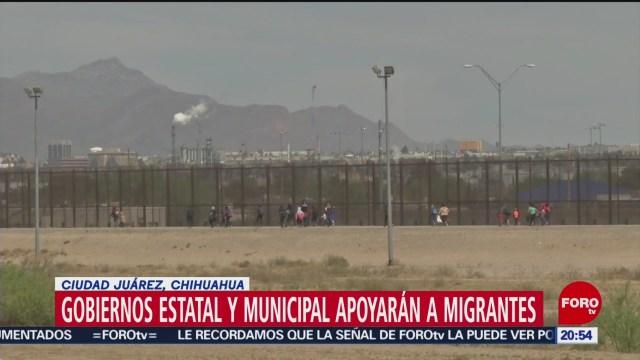 Foto: Gobierno de Chihuahua apoyará a migrantes centroamericanos