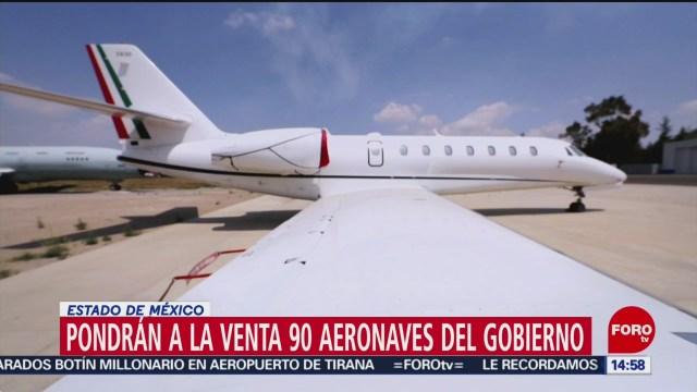 Foto: Gobierno venderá 90 aeronaves ejecutivas y civiles
