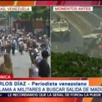 Guaidó llama a militares a buscar salida de Nicolás Maduro